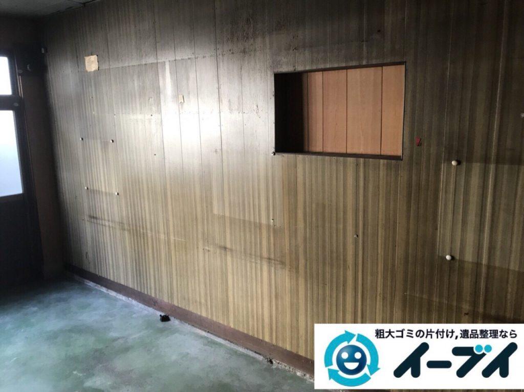 2018年3月2日大阪府大阪市大正区で絨毯や自転車等の粗大ゴミの不用品回収をしました。写真3