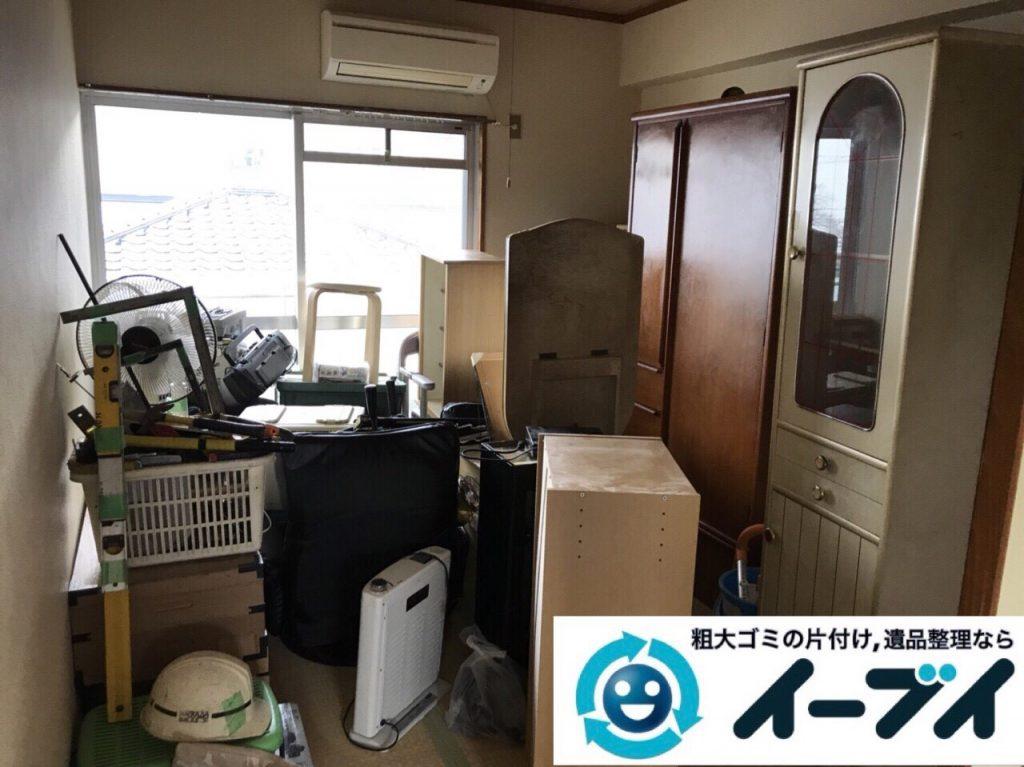 2018年2月24日大阪府大阪市港区でタンスや鏡台の家具処分や廃品の不用品回収をしました。写真4