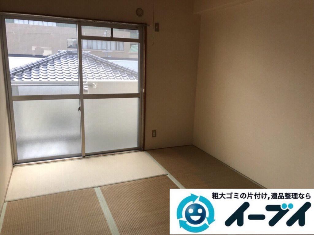 2018年2月24日大阪府大阪市港区でタンスや鏡台の家具処分や廃品の不用品回収をしました。写真3