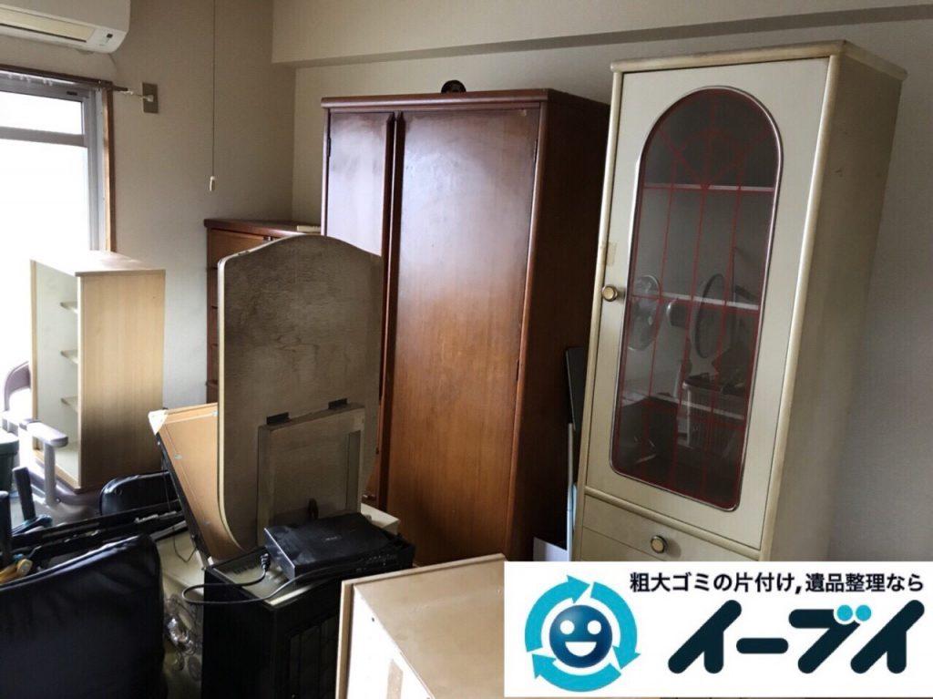 2018年2月24日大阪府大阪市港区でタンスや鏡台の家具処分や廃品の不用品回収をしました。写真2