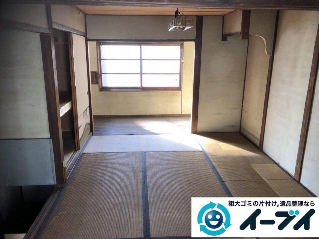 2018年2月25日大阪府大阪市此花区で絨毯や大型家具などを不用品回収しました。写真3