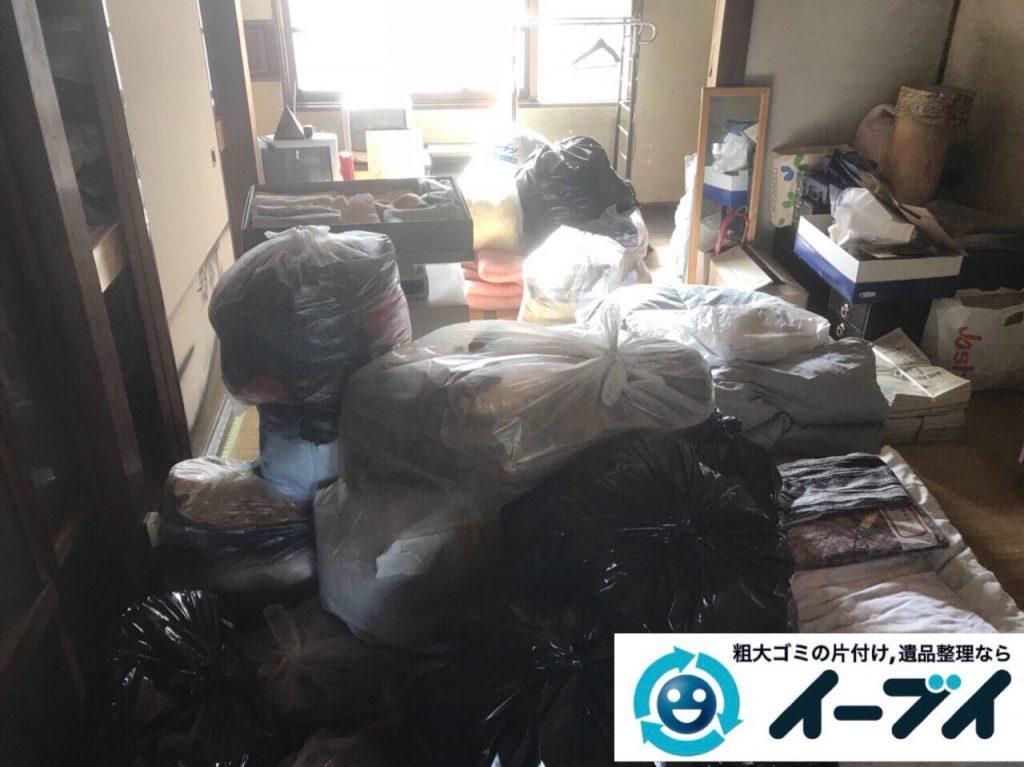 2018年2月25日大阪府大阪市此花区で絨毯や大型家具などを不用品回収しました。写真4