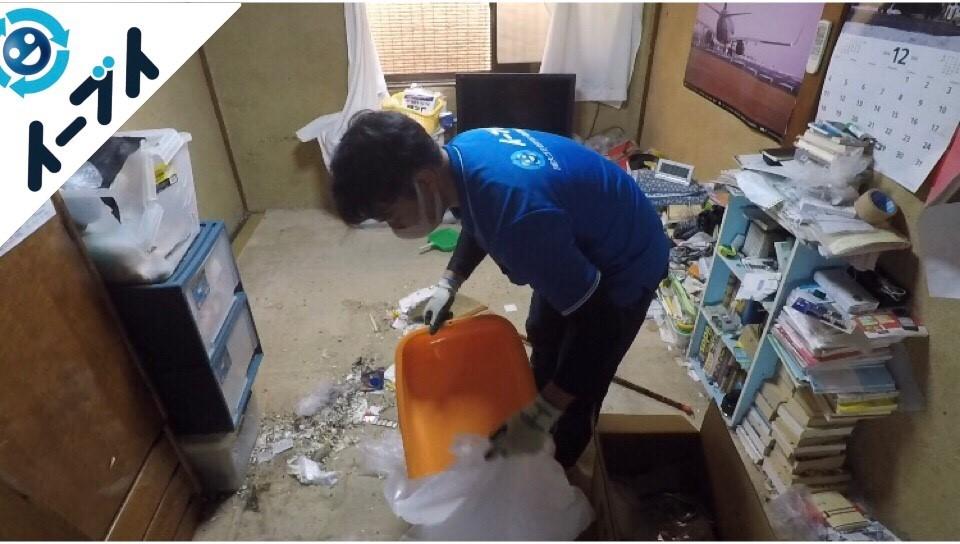 2018年3月27日大阪府堺市東区でゴミ屋敷の片付けで作業しました。写真8