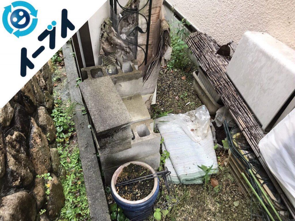 2018年4月2日大阪府摂津市で簾や廃品などの不用品回収をしました。写真5