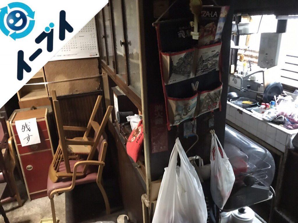 2018年4月5日大阪府堺市東区で食器棚や食品など片付け不用品回収をしました。写真6