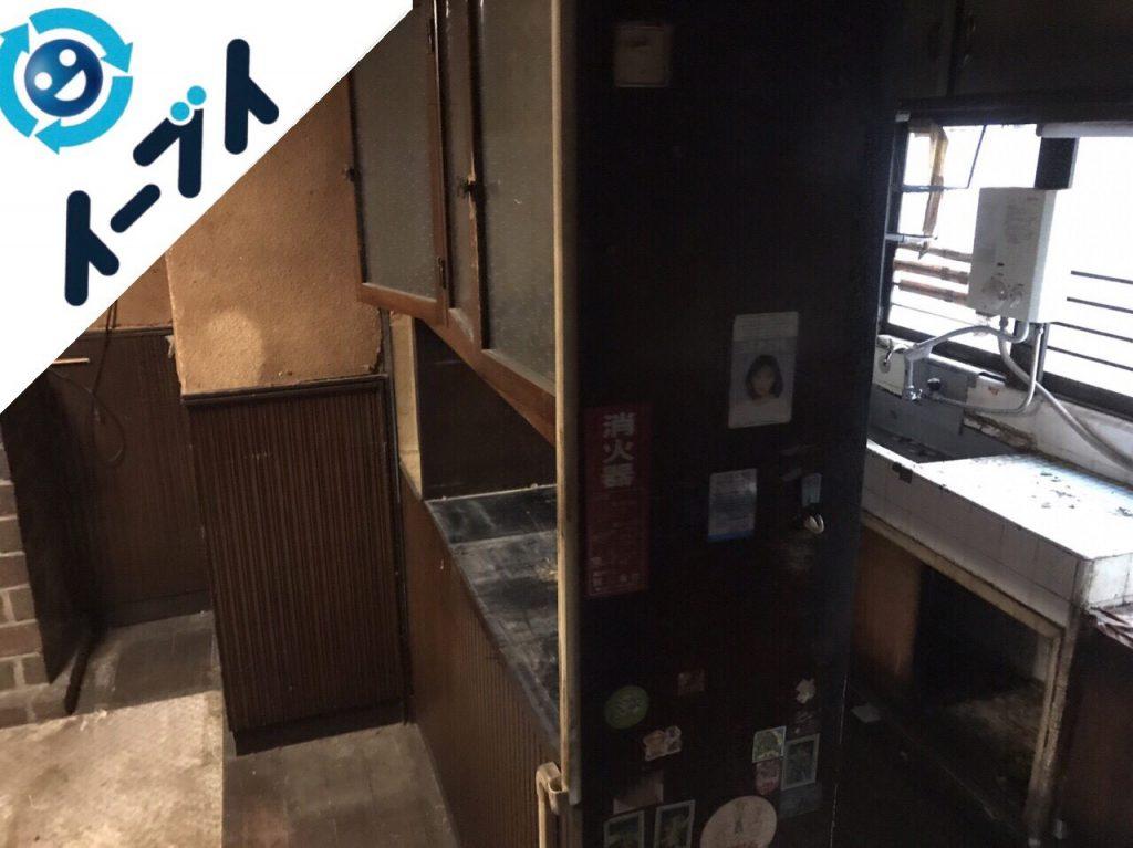 2018年4月5日大阪府堺市東区で食器棚や食品など片付け不用品回収をしました。写真5
