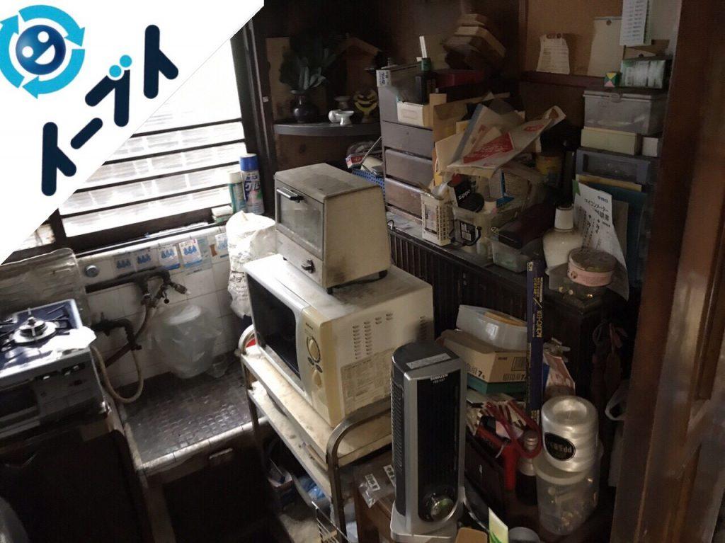 2018年4月5日大阪府堺市東区で食器棚や食品など片付け不用品回収をしました。写真4