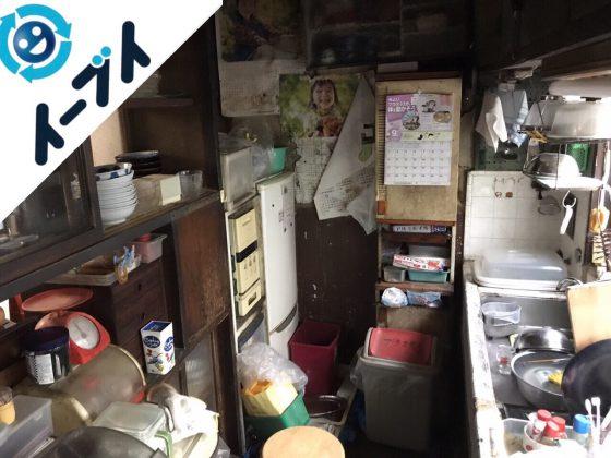 2018年4月5日大阪府堺市東区で食器棚や食品など片付け不用品回収をしました。写真2