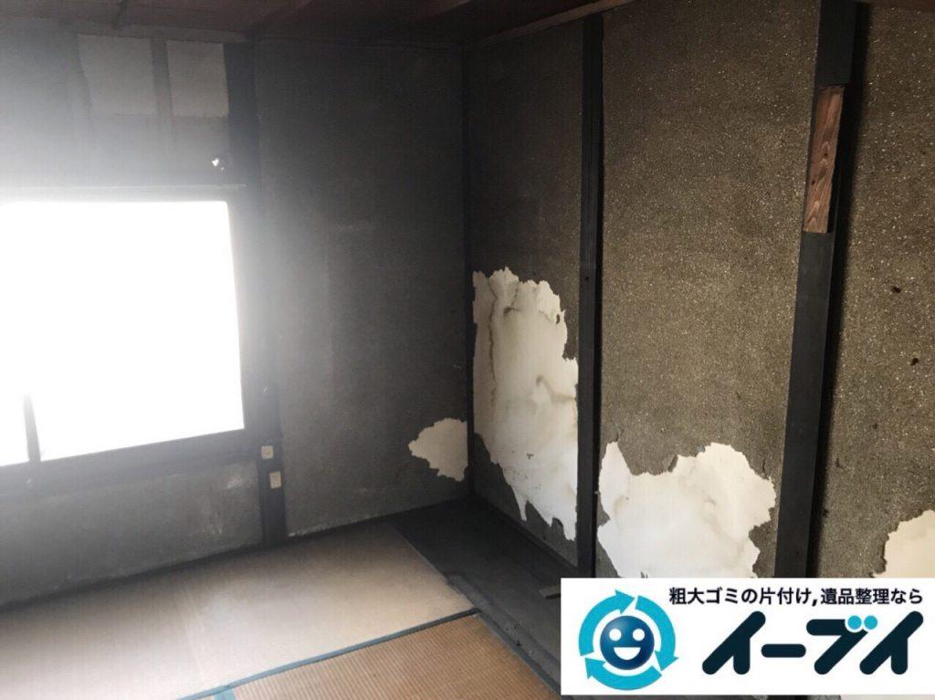 2018年3月24日大阪府大阪市天王寺区でタンスや婚礼家具の粗大ゴミの不用品回収をしました。写真4