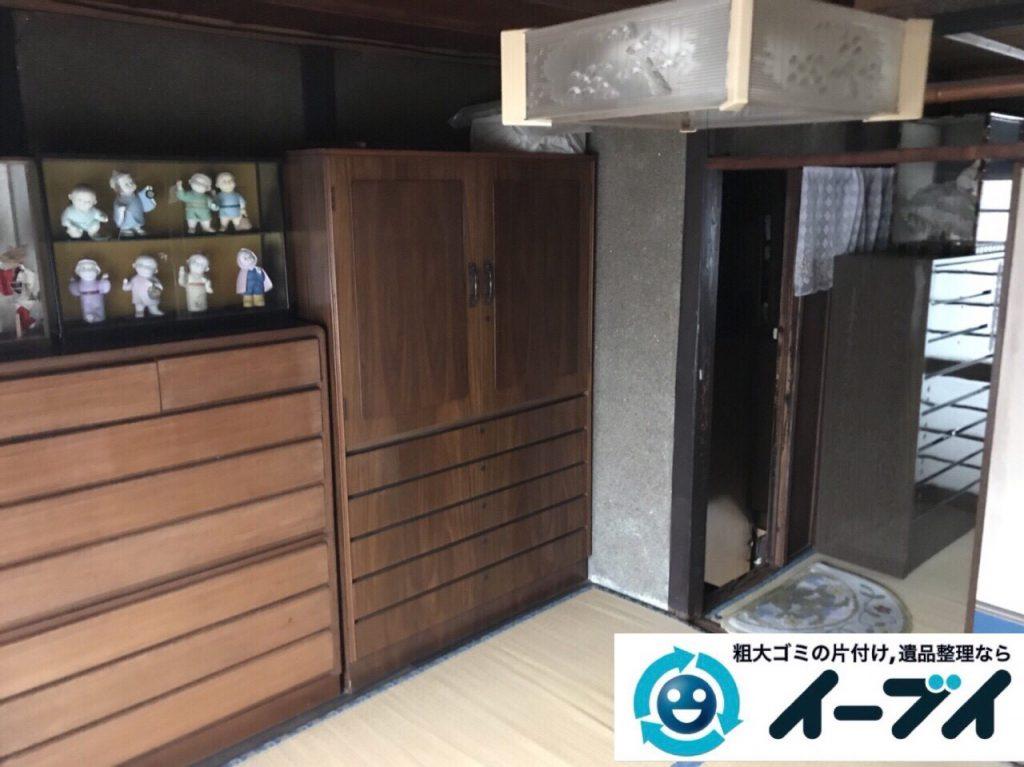 2018年3月24日大阪府大阪市天王寺区でタンスや婚礼家具の粗大ゴミの不用品回収をしました。写真3
