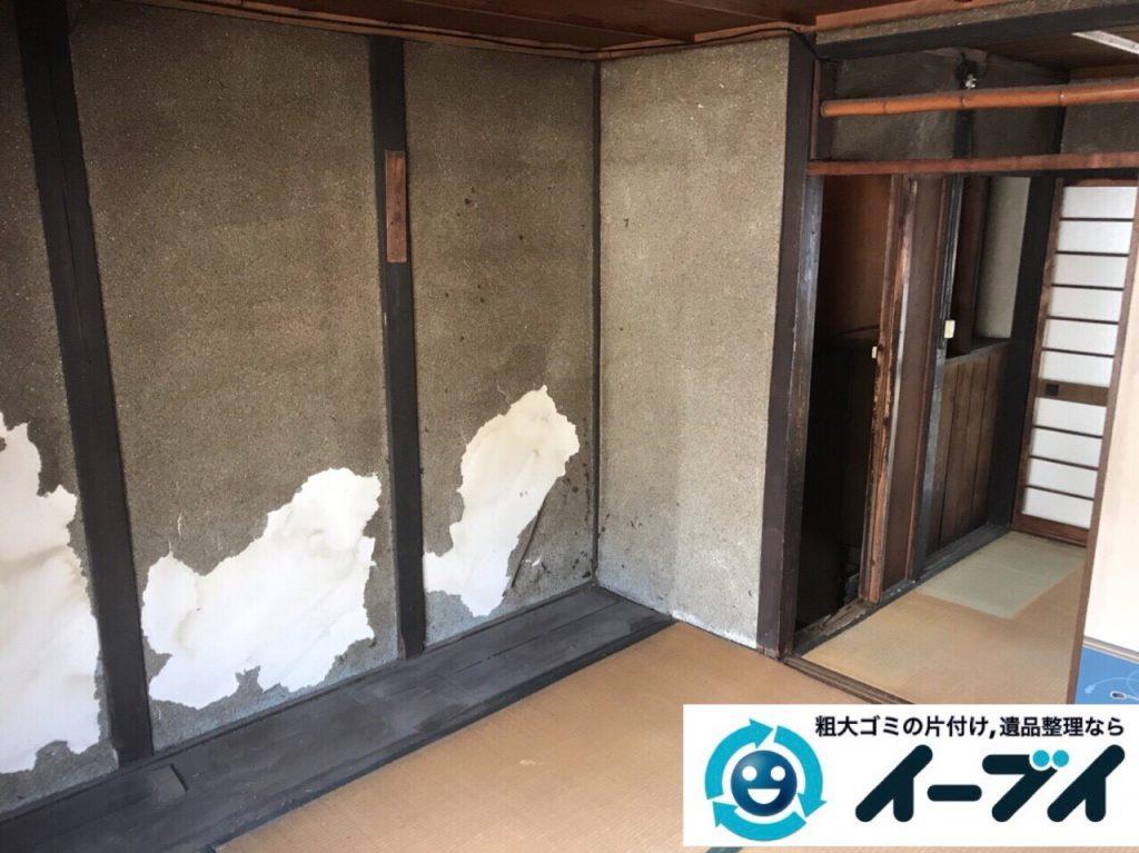 2018年3月24日大阪府大阪市天王寺区でタンスや婚礼家具の粗大ゴミの不用品回収をしました。写真2
