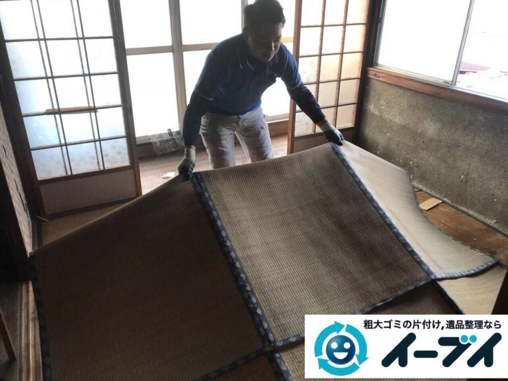2018年3月11日大阪府和泉市で整理タンスや粗大ゴミの家財道具処分で不用品回収しました。写真1