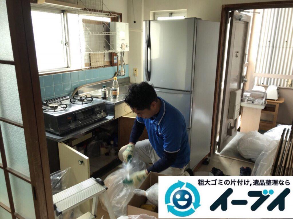 2018年3月23日写真大阪府大阪市鶴見区でガスコンロや冷蔵庫など家電製品の不用品回収をしました。写真3