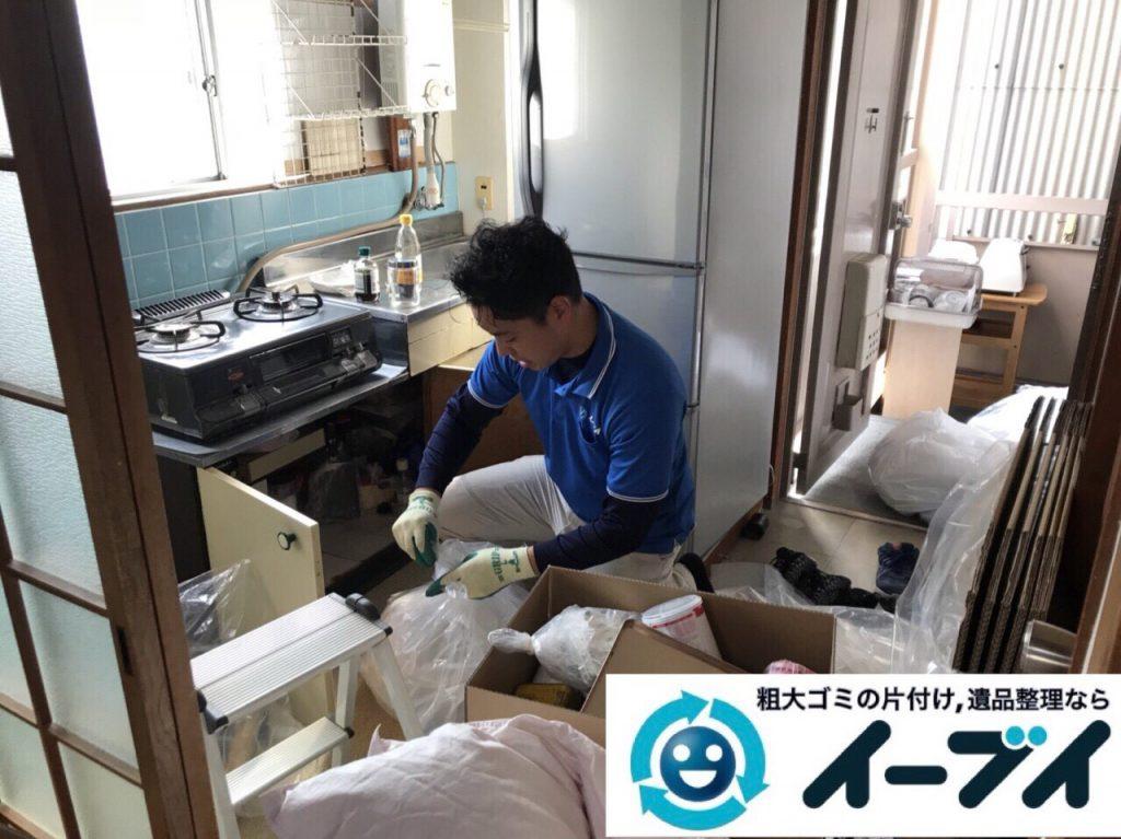 2018年3月23日写真大阪府大阪市鶴見区でガスコンロや冷蔵庫など家電製品の不用品回収をしました。写真2
