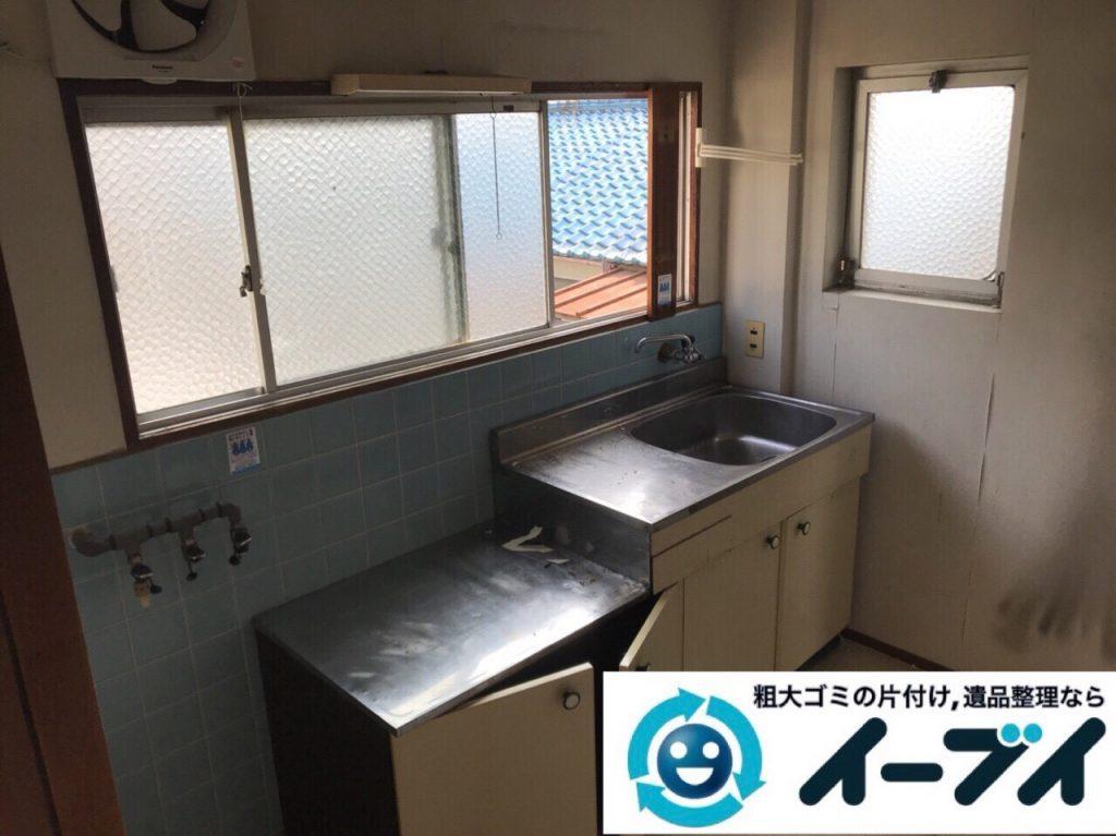 2018年3月23日写真大阪府大阪市鶴見区でガスコンロや冷蔵庫など家電製品の不用品回収をしました。写真4