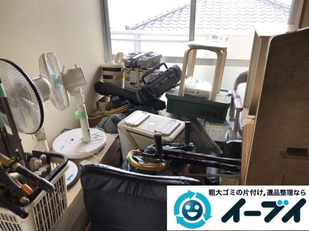 2018年3月8日大阪府堺市西区で廃家電や台所の調理器具など不用品回収をしました。写真4