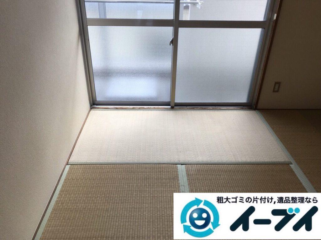 2018年3月8日大阪府堺市西区で廃家電や台所の調理器具など不用品回収をしました。写真3