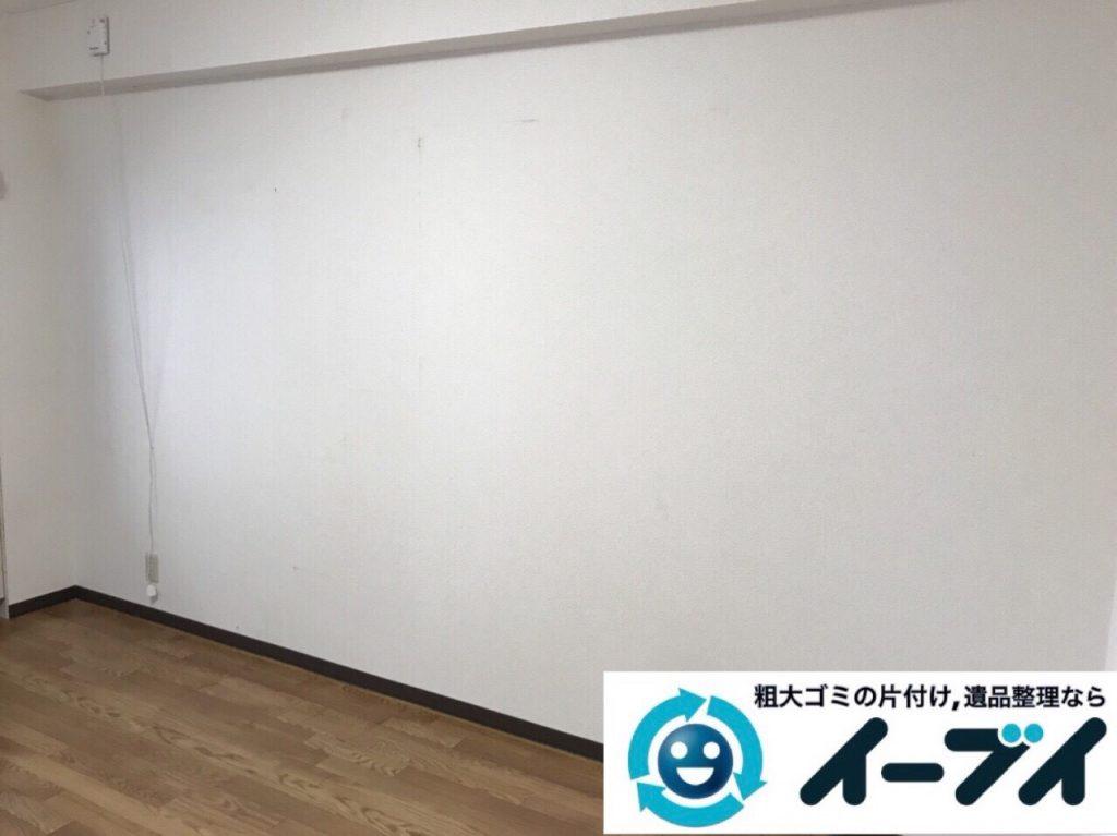 2018年3月6日大阪府大阪市西区で食器棚やコタツなど粗大ゴミの不用品回収をしました。写真3