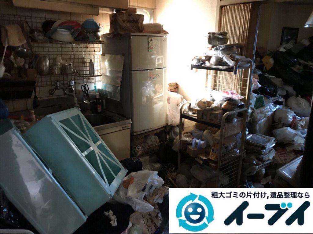 2018年3月9日大阪府藤井寺市でゴミ屋敷の片付け処分をしました。写真5
