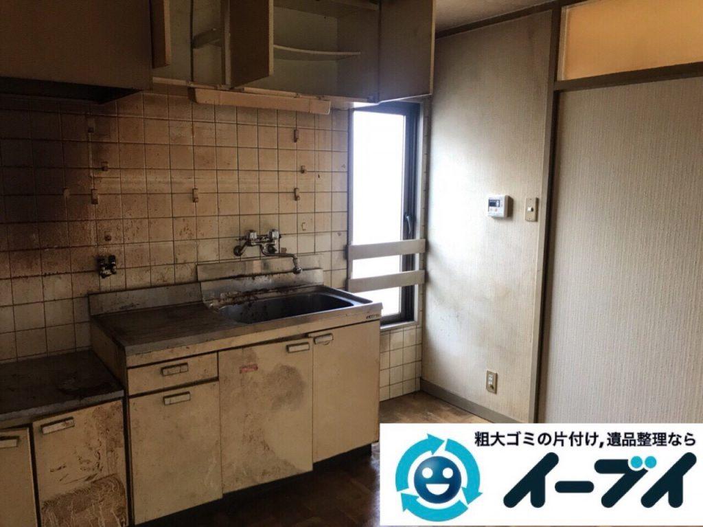 2018年3月9日大阪府藤井寺市でゴミ屋敷の片付け処分をしました。写真4