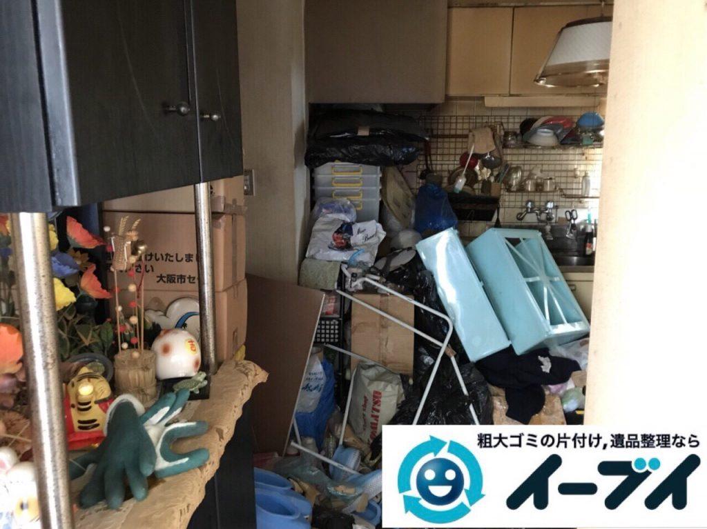 2018年3月9日大阪府藤井寺市でゴミ屋敷の片付け処分をしました。写真3