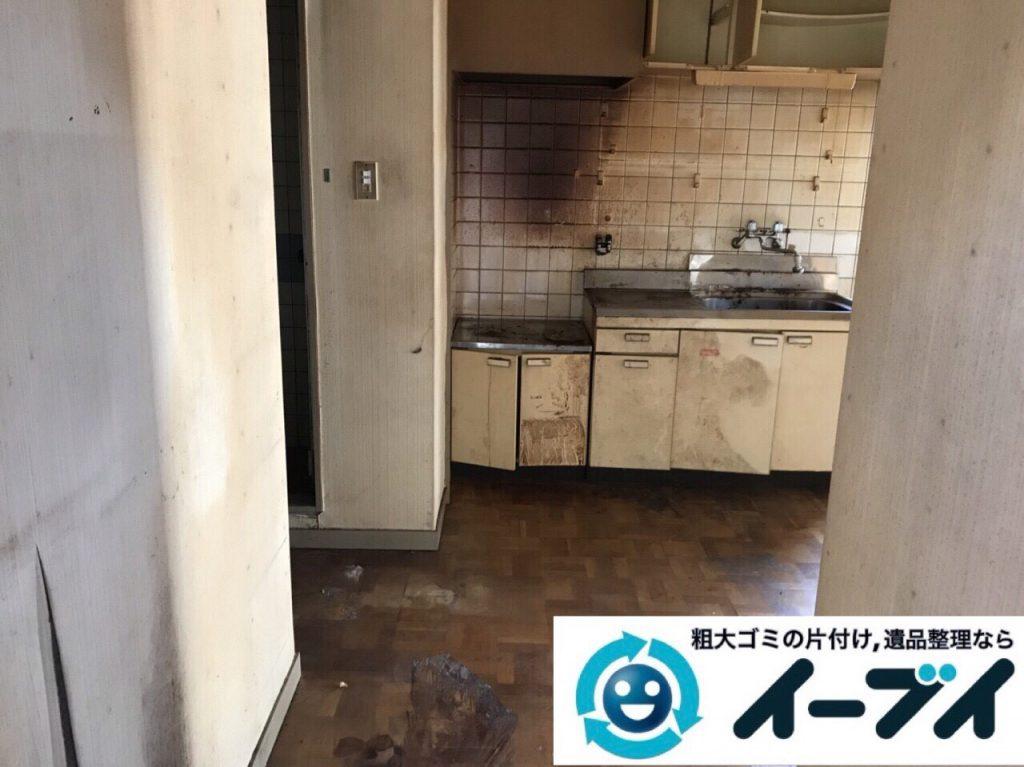 2018年3月9日大阪府藤井寺市でゴミ屋敷の片付け処分をしました。写真2