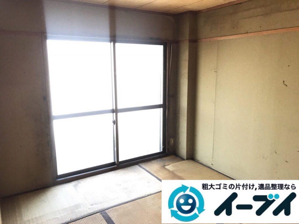 2018年3月30日大阪府大阪市都島区で隠れゴミ屋敷の片付けをしました。写真5