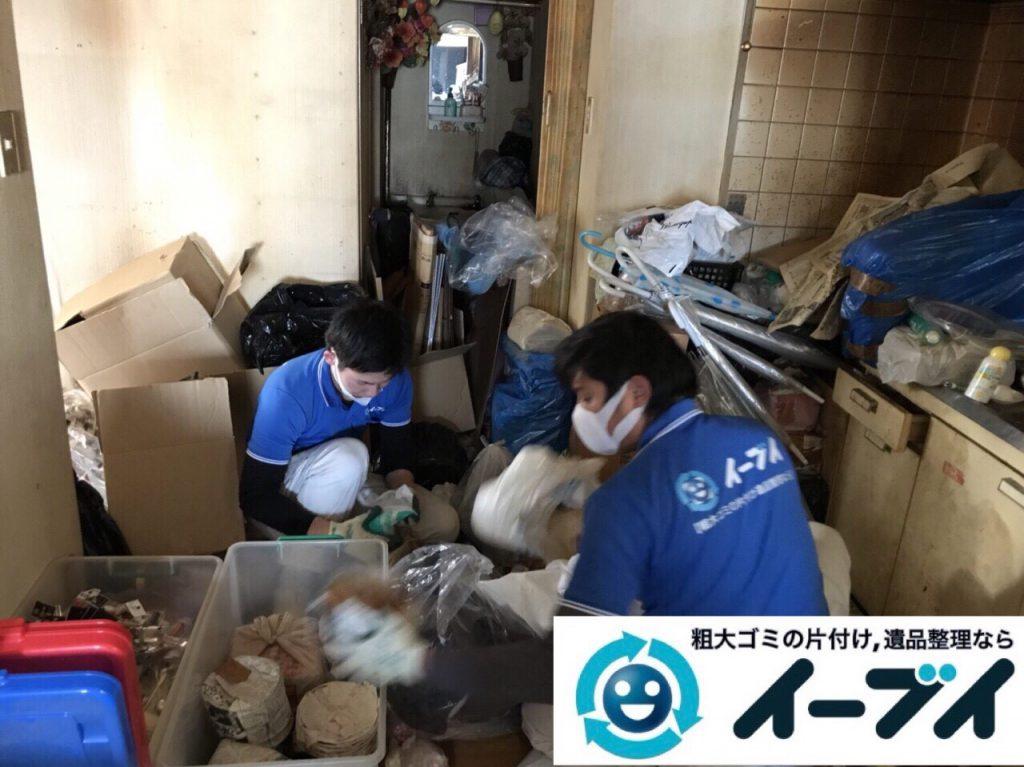 2018年3月9日大阪府藤井寺市でゴミ屋敷の片付け処分をしました。写真1