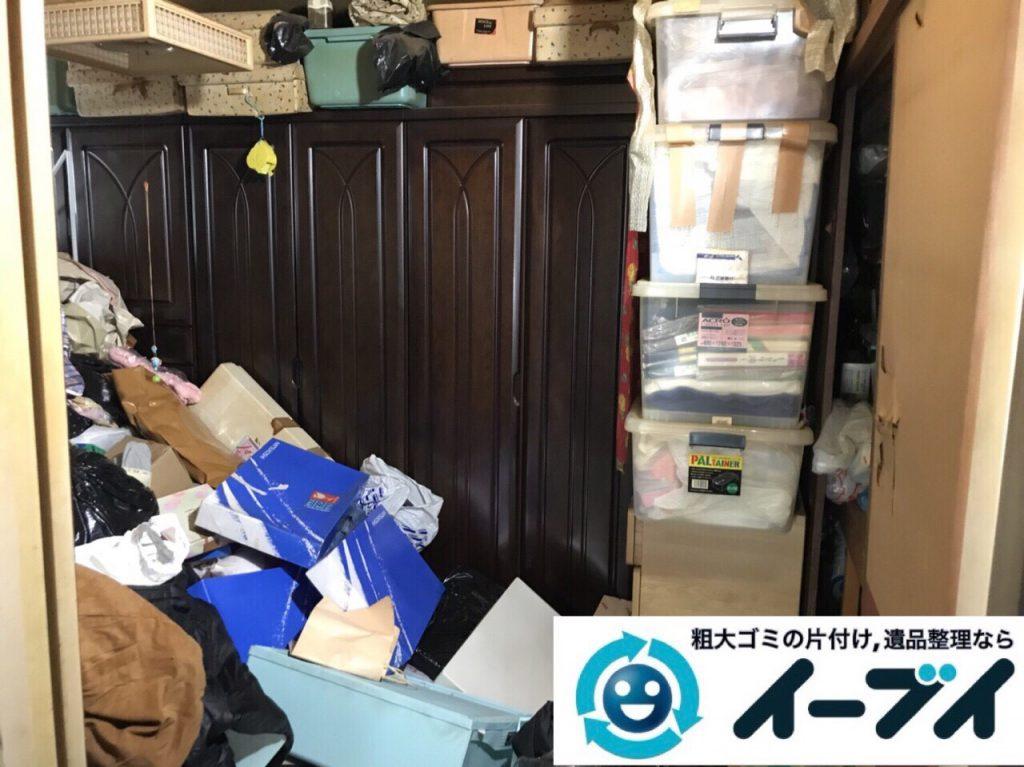 2018年3月30日大阪府大阪市都島区で隠れゴミ屋敷の片付けをしました。写真4