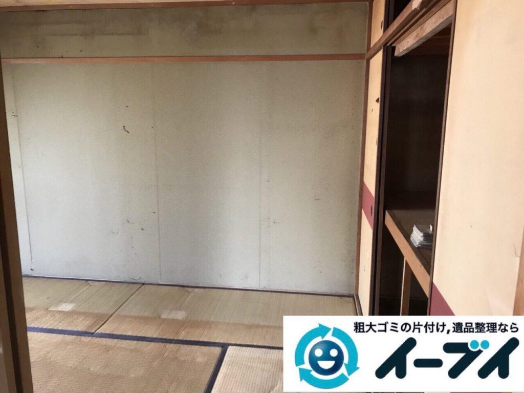 2018年3月30日大阪府大阪市都島区で隠れゴミ屋敷の片付けをしました。写真3