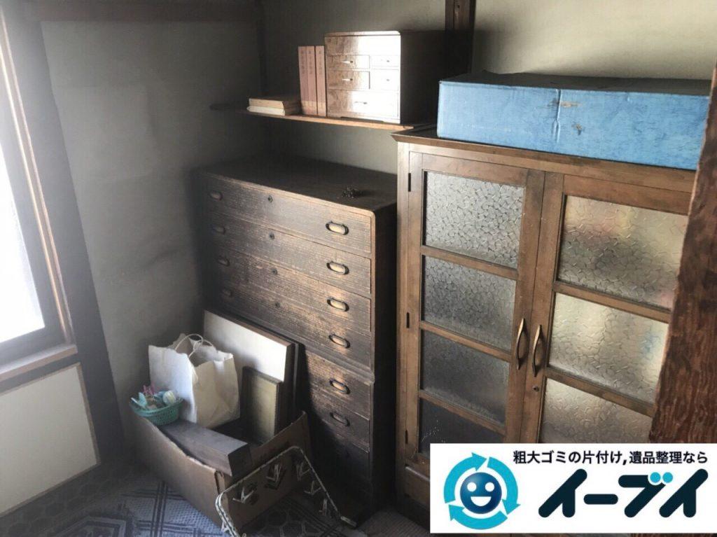 2018年3月11日大阪府和泉市で整理タンスや粗大ゴミの家財道具処分で不用品回収しました。写真5