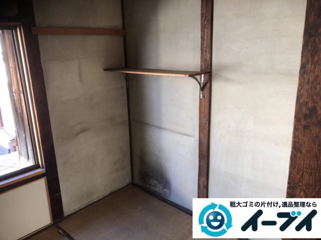 2018年3月11日大阪府和泉市で整理タンスや粗大ゴミの家財道具処分で不用品回収しました。写真4