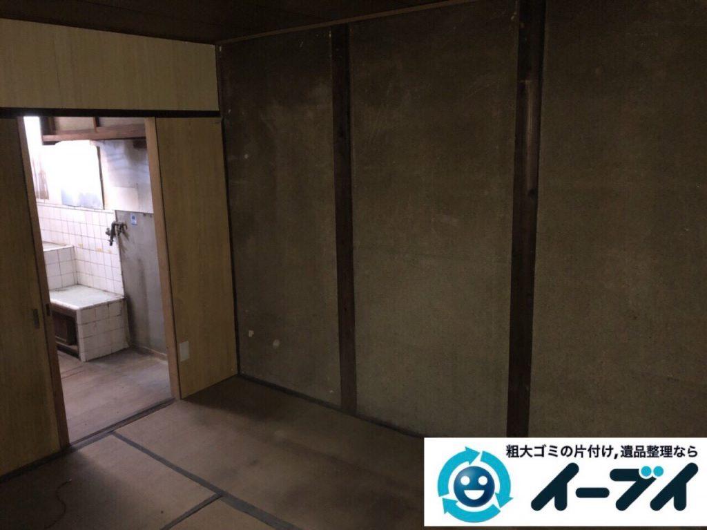 2018年3月11日大阪府和泉市で整理タンスや粗大ゴミの家財道具処分で不用品回収しました。写真2