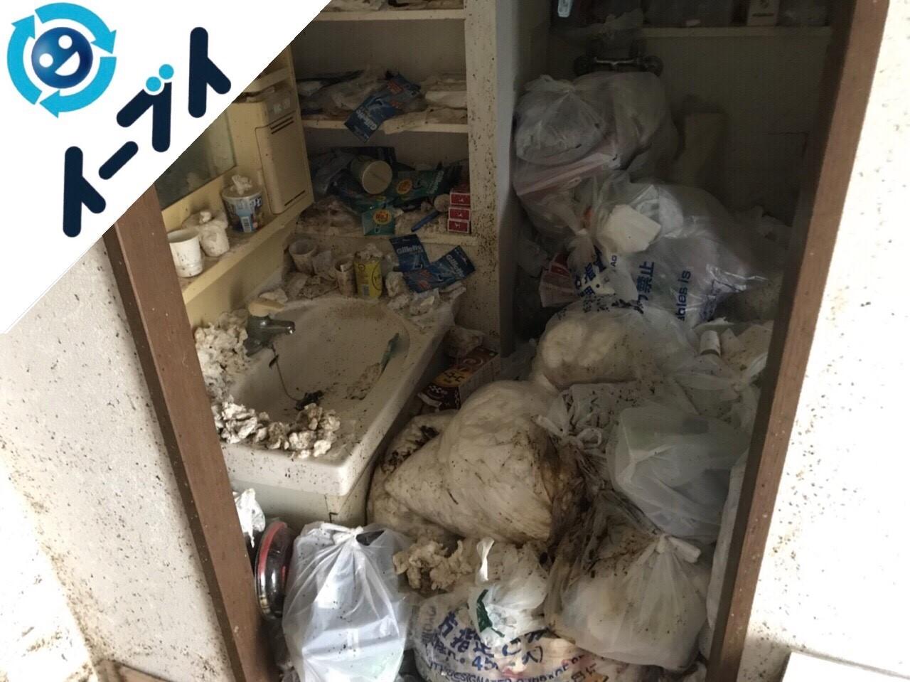 2018年4月23日大阪府四条畷市でゴミ屋敷の片付けをしました。写真6