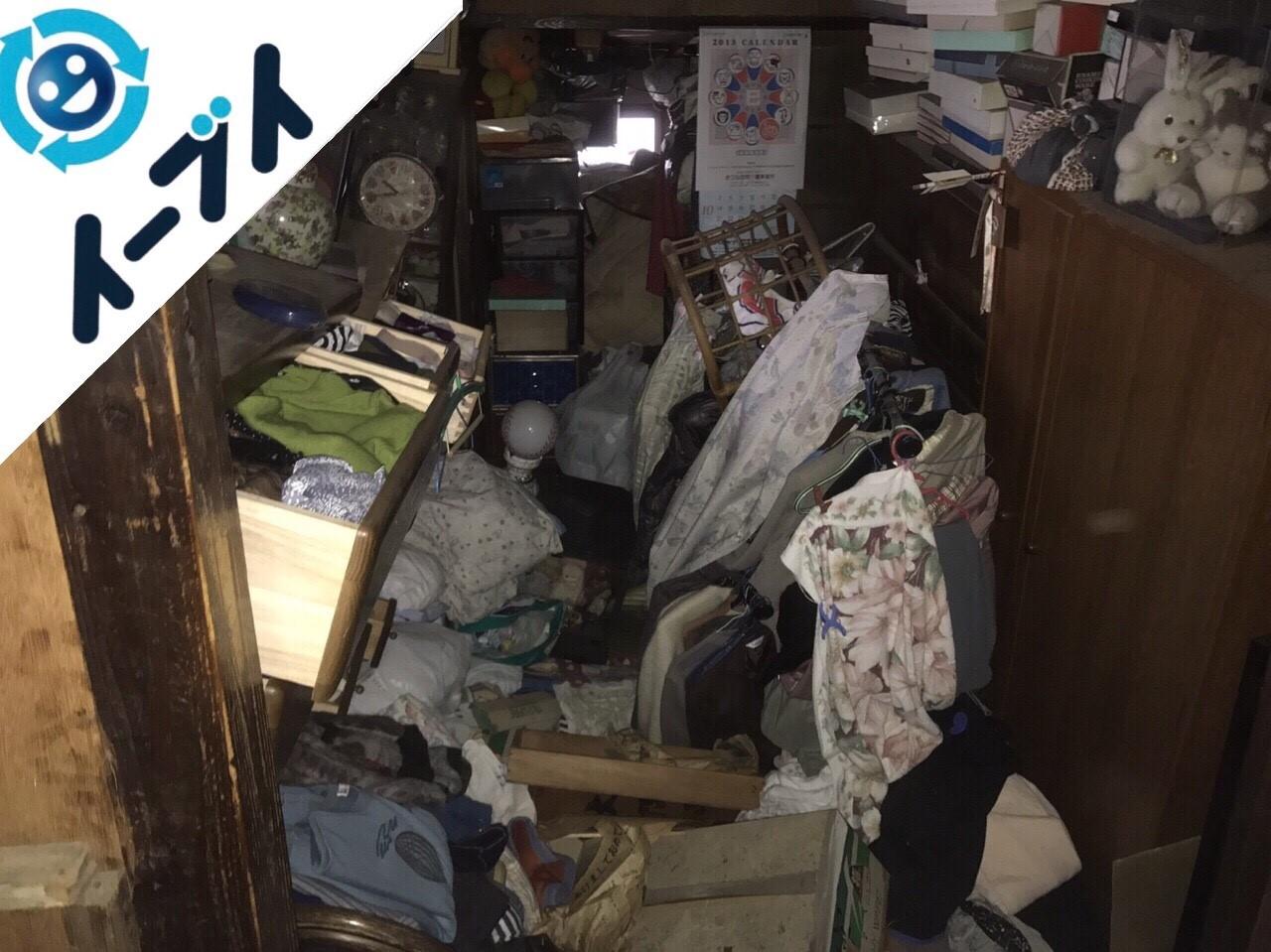 2018年5月1日大阪府寝屋川市でゴミ屋敷の片付け処分をしました。写真7