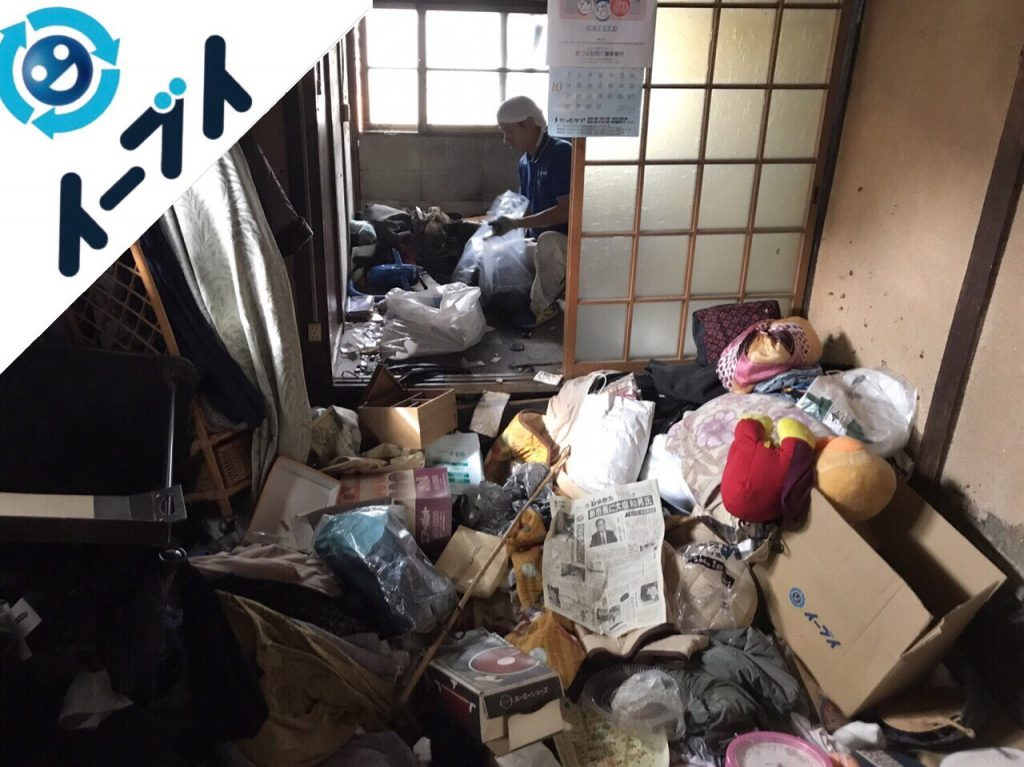 2018年5月1日大阪府寝屋川市でゴミ屋敷の片付け処分をしました。写真3