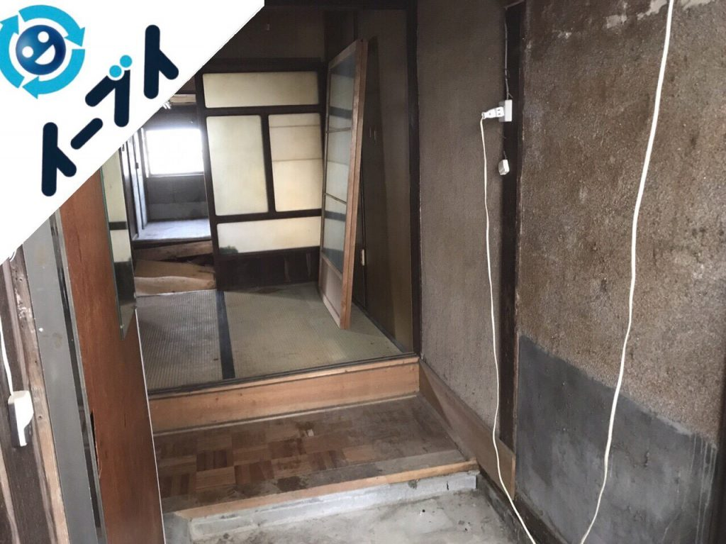 2018年5月1日大阪府寝屋川市でゴミ屋敷の片付け処分をしました。写真1