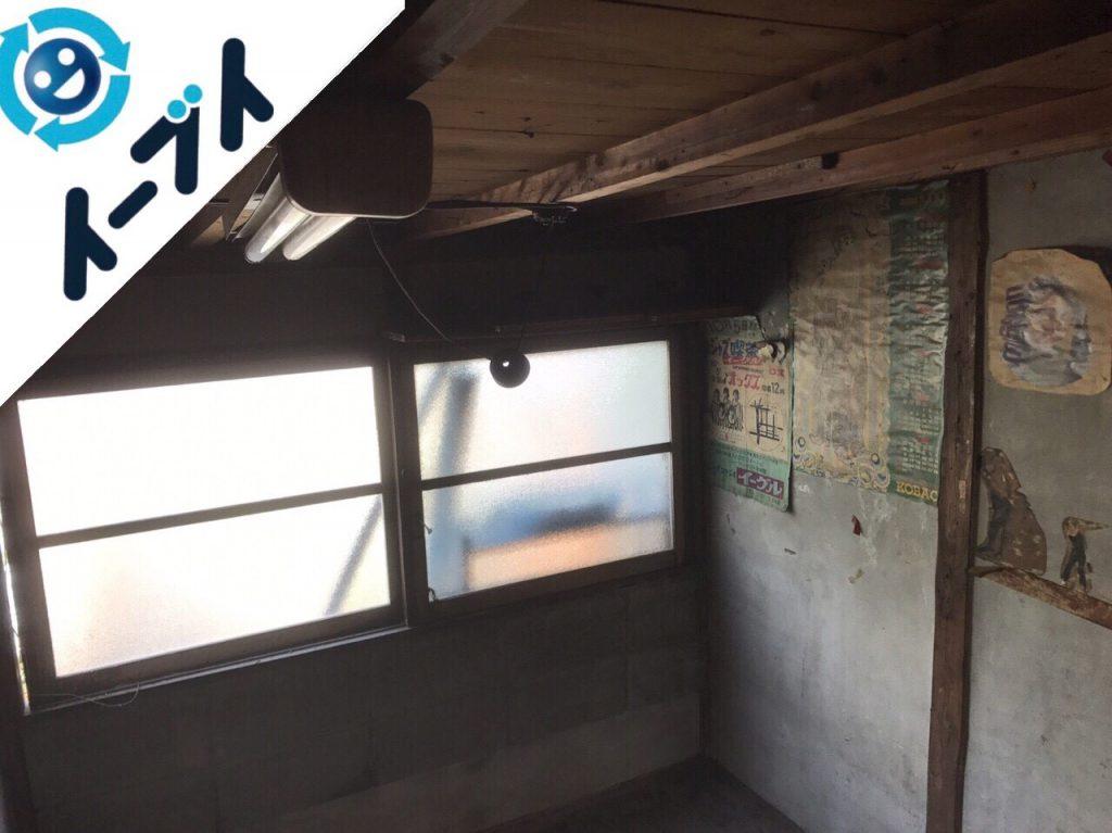 2018年5月1日大阪府寝屋川市でゴミ屋敷の片付け処分をしました。写真4