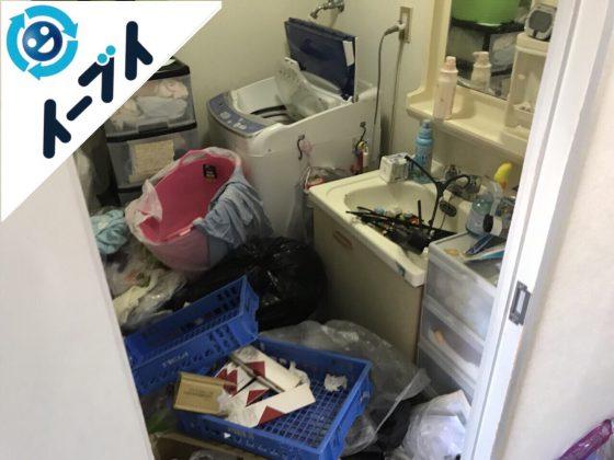 2018年5月5日大阪府摂津市でゴミ屋敷状態の生活用品の片付け処分。写真6