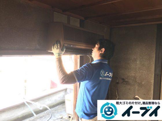 2018年4月14日大阪府大阪市東淀川区でクーラーや日本人形など不用品回収をしました。写真3