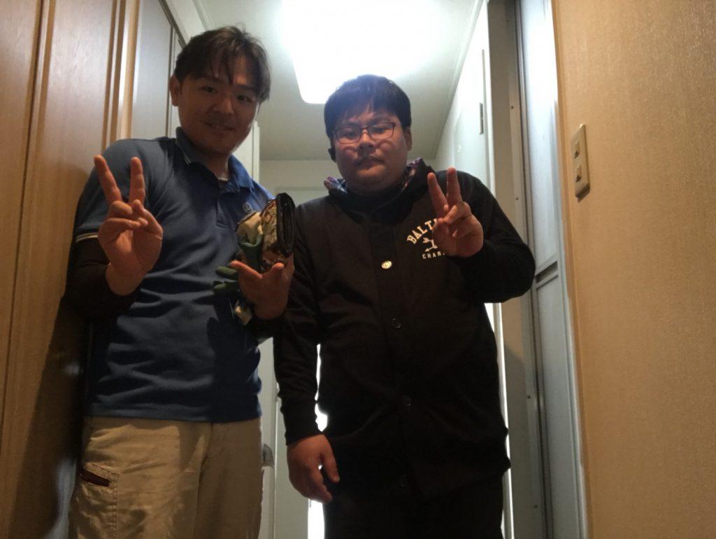 2018年4月10日大阪府東大阪市でリサイクル家電や粗大ゴミの不用品回収でイーブイを利用していただきました。