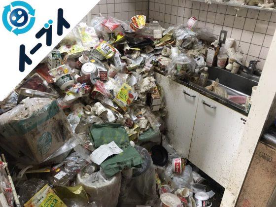 2018年5月26日大阪府豊中市でゴミ部屋状態の汚部屋の片付けをしました。写真2