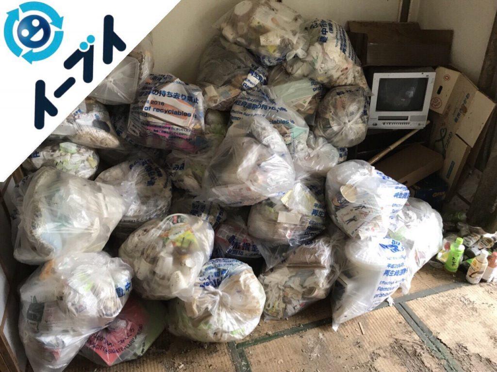 2018年5月26日大阪府豊中市でゴミ部屋状態の汚部屋の片付けをしました。写真8