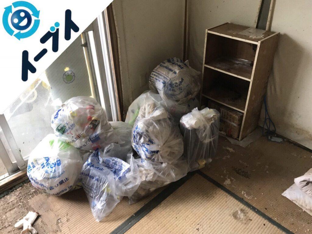 2018年5月26日大阪府豊中市でゴミ部屋状態の汚部屋の片付けをしました。写真6