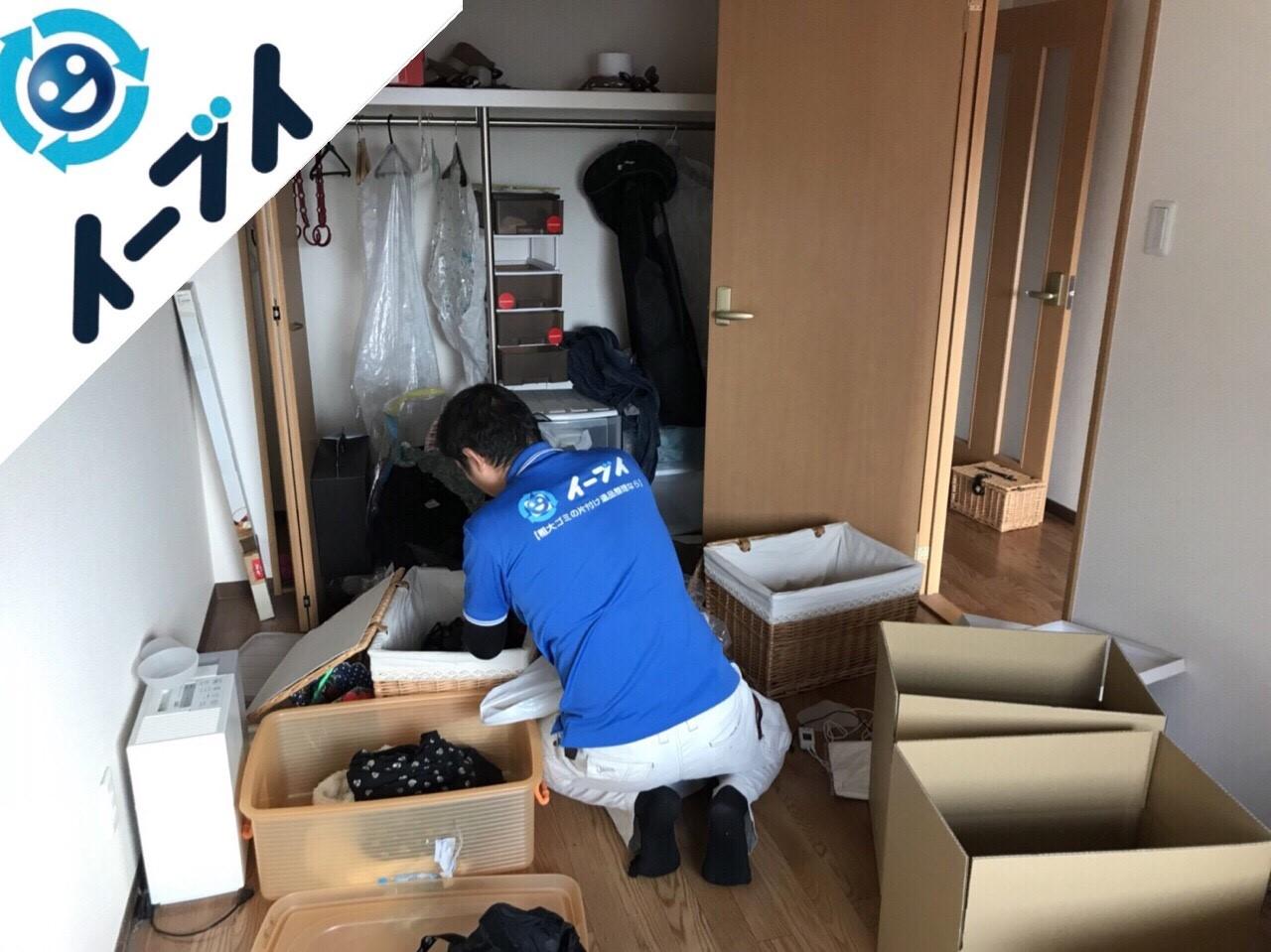 2018年5月10日大阪府泉大津市で衣類や家電製品の粗大ゴミを不用品回収しました。写真3
