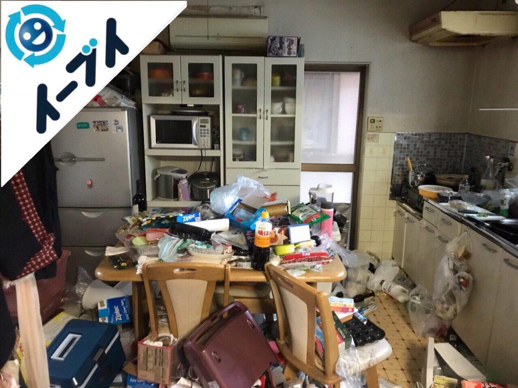 2018年5月8日大阪府泉南市でゴミ屋敷の台所の家具処分や片付けをしました。写真4