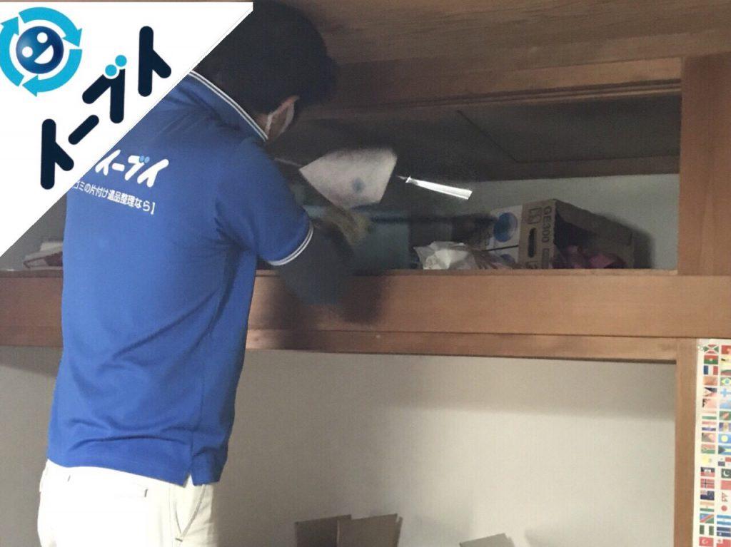2018年5月8日大阪府泉南市でゴミ屋敷の台所の家具処分や片付けをしました。写真1
