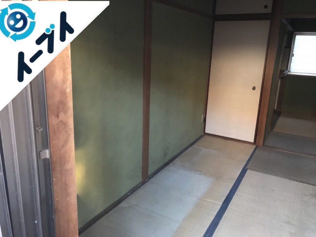 2018年6月1日大阪府枚方市でゴミ屋敷化した長年放置された部屋の片付け。写真4