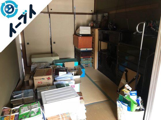 2018年5月31日大阪府摂津市で押入れの布団や和ダンスなど粗大ゴミの不用品回収をしました。写真4