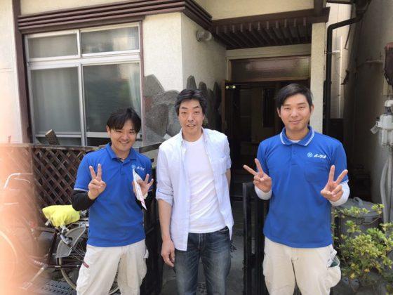 2018年5月19日大阪府八尾市春日町で家財道具一式の処分でイーブイをご利用して頂きました。
